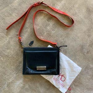 Kelsi Dagger leather crossbody purse